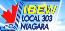IBEW Local 303 Niagara Logo